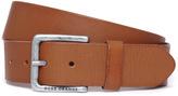 Boss Orange Jeek Tan Leather Belt