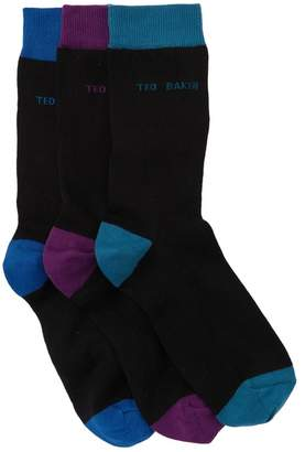Ted Baker Teens Waterfall Socks - Set of 3