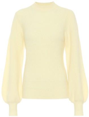 Ganni Alpaca-blend sweater