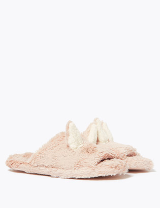 Marks and Spencer Kids' Bunny Slippers (13 Small 6 Large)