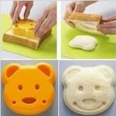 Zehui Cutter Tool Kit Home Decor 1 Pcs DIY Cute Bear Sandwich Bread Dessert Rice Toast Stamp Mold