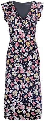 Rachel Roy Floral Print Midi Dress