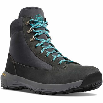 "Danner Women's 65718 Explorer 650 5"" Waterproof Hiking Boot Gray/Sky Blue - 6.5M"
