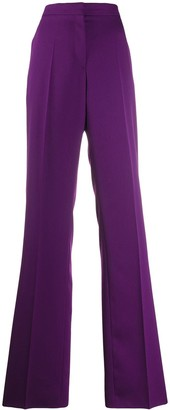 Rochas High-Rise Palazzo Trousers