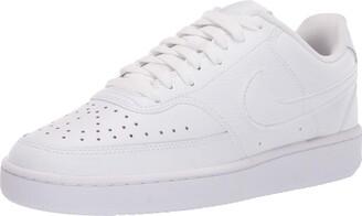 Nike Women's COURT VISION LOW Sneaker-White 7 UK