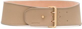 Agnona Wide Leather Belt