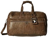 Scully Squadron Large Duffel w/ 81st Aero Squadron Luggage Tag (Brown) Duffel Bags