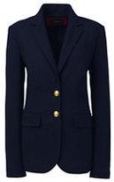 Classic Women's Plus Size Navy Blazer-Radiant Navy