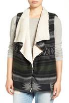 Steve Madden &Western Spirit& Blanket Vest