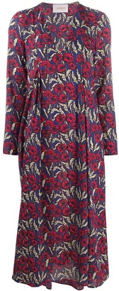 La DoubleJ Poppy Print Shift Dress