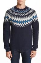 Norse Projects Men's Nirnir Fair Isle Lambswool Sweater