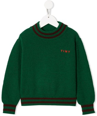 Tiny Cottons Logo Embroidered Jumper