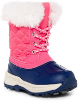 Carter's Carter&s Vermont Faux Fur Cuff Weather Boot (Toddler & Little Kid)