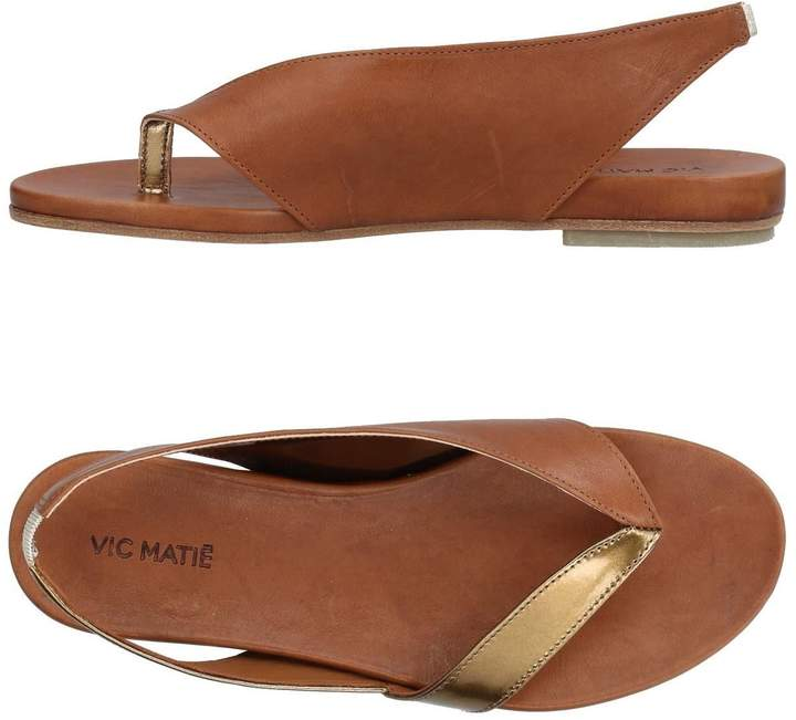 Vic Matié Toe strap sandals