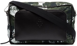 Marcelo Burlon County of Milan Crossbody Camouflage Messenger Bag