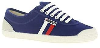 Kawasaki Unisex Adults' Rainbow Retro Basic Low-Top Sneakers, Blue (Navy/White/Red Stripes), 3.5 UK 36 EU