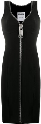 Moschino Zip-Up Fitted Dress