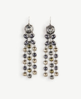 Ann Taylor Crystal Statement Earrings
