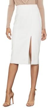 BCBGMAXAZRIA Stretch Crepe Pencil Skirt