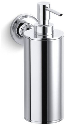 Kohler Purist Wall-Mounted Soap/Lotion Dispenser, Polished Chrome