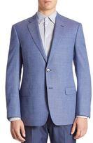 Armani Collezioni Micro-Weave Virgin Wool Sportcoat