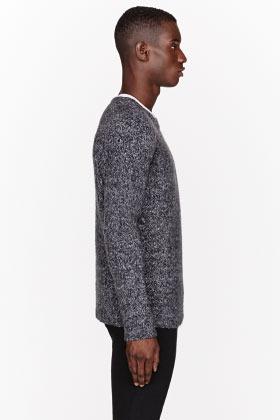 BLK DNM Mottled Grey Knit sweater