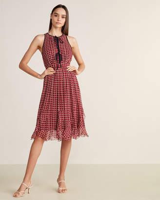 Joie Rolanda Tie Neck Dress