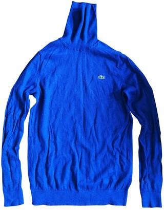 Lacoste Blue Wool Knitwear for Women