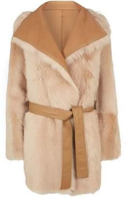 Joseph Liman Short Sheepskin Coat