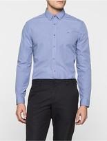 Calvin Klein Galen Check Fitted Shirt
