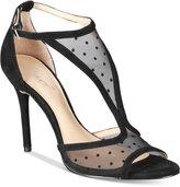 Jewel Badgley Mischka Horizon Mesh Evening Sandals