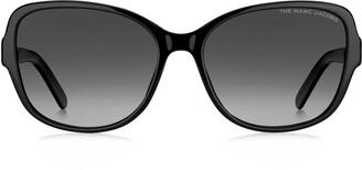 Marc Jacobs 58mm Polarized Gradient Cat Eye Sunglasses