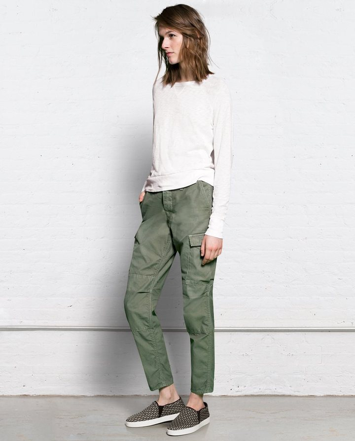 Rag and Bone Combat Pant - Distressed Army
