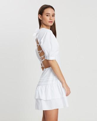 SIR the Label Delilah Open Back Dress