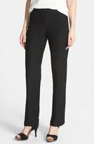 Eileen Fisher Women's Straight Leg Crepe Pants