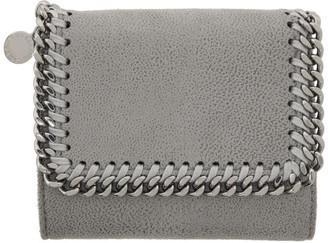 Stella McCartney Grey Falabella Trifold Wallet