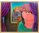 Untitled (Portrait of a Woman with a Veil)