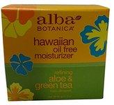 Alba Hawaiian, Aloe & Green Tea Oil-Free Moisturizer, 3 Ounce (Pack of 2)
