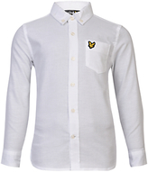 Lyle & Scott Boys' Oxford Shirt, White