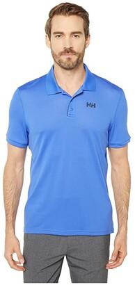 Helly Hansen Lifa Active Solen Short Sleeve Polo (Royal Blue) Men's Clothing