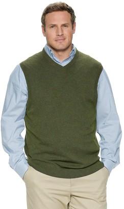 Croft & Barrow Big & Tall Sweater Vest