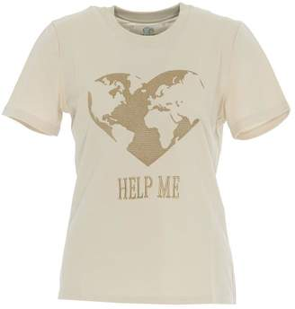 Alberta Ferretti Motif Embroidered T-Shirt
