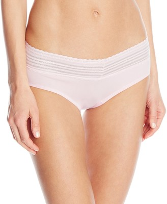 Warner's Warners Women's No Pinching No Problems Cotton Lace Hipster Panty
