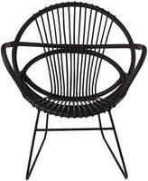 Pols Potten Singapore Open Chair - Black
