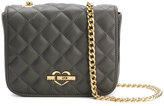 Love Moschino chain quilted shoulder bag - women - Polyurethane - One Size