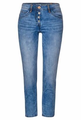 Cecil Women's 373237 Scarlett Im Loose Fit Trouser