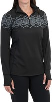 SnowAngel Snow Angel Chami Alpine Graphic Base Layer Top - Zip Neck, Long Sleeve (For Women)