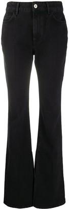 ATTICO Mid-Rise Wide Leg Jeans