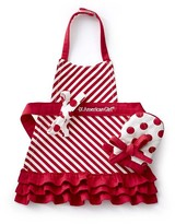 American GirlTM Holiday Doll Apron & Oven Mitt Set