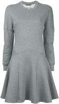 Alexander McQueen sweatshirt dress - women - Cotton - 38